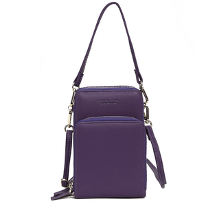 2020 New Cell Phone Crossbody Bag for Women 1688 Purple