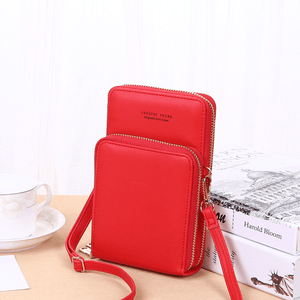 2020 New Cell Phone Crossbody Bag for Women 1688 Red