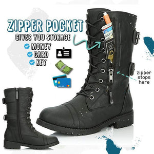 2020 New Trend Mid Wallet Pocket Boots 1688
