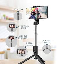 Load image into Gallery viewer, 2021 All in One Phone Selfie Stick 1688