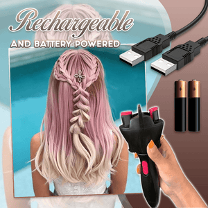 5-Seconds Automatic DIY Hair Braider 1688 USB Charging