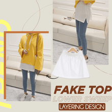 Load image into Gallery viewer, Adjustable Layering Fake Top Lower Sweep 1688