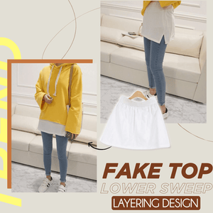 Adjustable Layering Fake Top Lower Sweep 1688