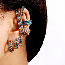 Load image into Gallery viewer, Baroque Rhinestones Ear Accessory Set(8pcs) 1688