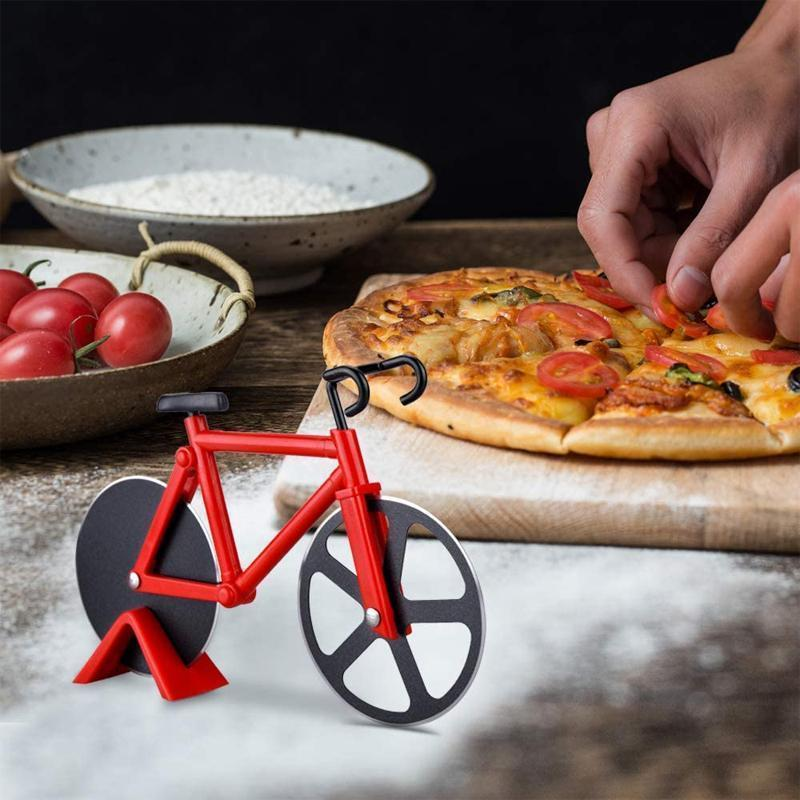Bicycle Pizza Cutter 1668 Red