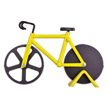 Load image into Gallery viewer, Bicycle Pizza Cutter 1668 Yellow