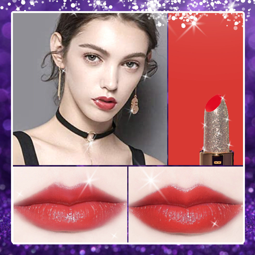 Blingerous Galaxy Beauty Lipstick 1688 Imperial Red