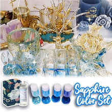 Load image into Gallery viewer, Brilliant DIY Crystal glue Set 1688 Sapphire Color Set