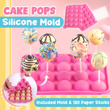 Load image into Gallery viewer, Cake Pops Silicone Mold 1688