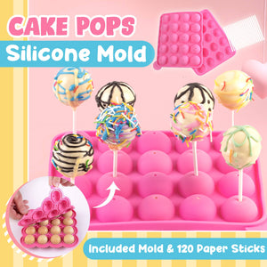 Cake Pops Silicone Mold 1688