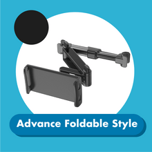 Load image into Gallery viewer, Car Backseat Phone Holder 1688 Advance Foldable Style Black