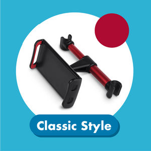Car Backseat Phone Holder 1688 Classic Style Red