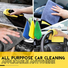 Load image into Gallery viewer, Car Instant Ultra Absorbent Microfiber Towel 1688 Blue 3PCs Set