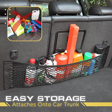 Load image into Gallery viewer, Car Velcro Trunk Net Pocket 1688