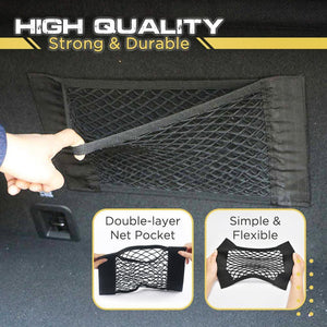 Car Velcro Trunk Net Pocket 1688