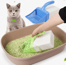 Load image into Gallery viewer, Cat Litter Sifter Scoop System with Extra Waste Bags 1688