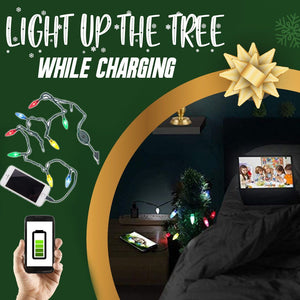 Christmas Lights Phone Charging Cable 1688