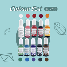 Load image into Gallery viewer, Crystal Glue DIY Kit 1688 Colour Set (10pcs)