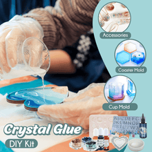 Load image into Gallery viewer, Crystal Glue DIY Kit 1688 Silicone Mold (7pcs)