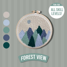 Load image into Gallery viewer, DIY Punch Needle Kit 1688 Forest View