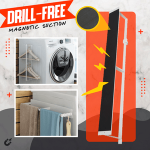 Drill-Free Magnetic Suction Storage Rack 1688