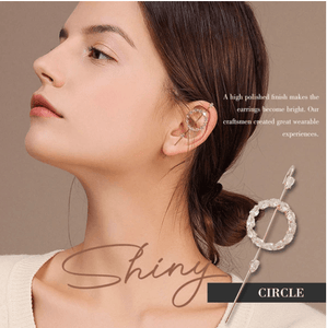 Ear Wrap Crawler Hook Earrings 1688 CIRCLE