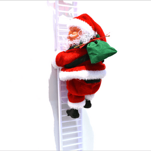 Electric Climbing Santa Limited Edition 1668 White Lander