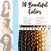 Load image into Gallery viewer, Elegant Stretchy Braided Headband 1688 Black