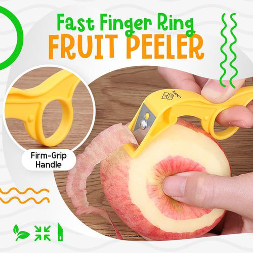 Fast Finger Ring Fruit Peeler 1688 1pc
