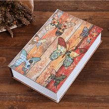 Load image into Gallery viewer, Fireproof Secret Book Safe Box 1688 BUTTERFLY KEY