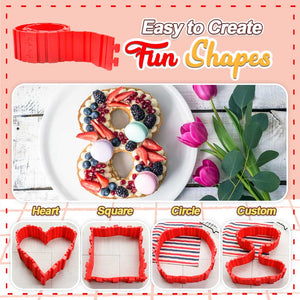 Free Shaping Silicone Cake Mould 1688