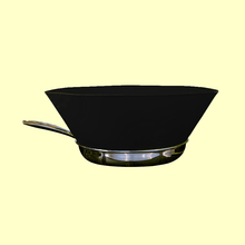 Load image into Gallery viewer, Frying Helper 1688 10inch Black