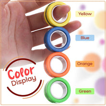 Load image into Gallery viewer, Funny Finger Magnetic Rings 1688 Green
