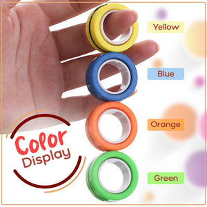 Funny Finger Magnetic Rings 1688 Green