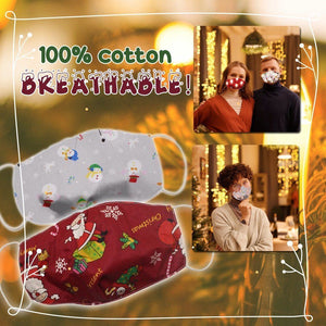 Funny LED Christmas Washable Cloth Cover 1688