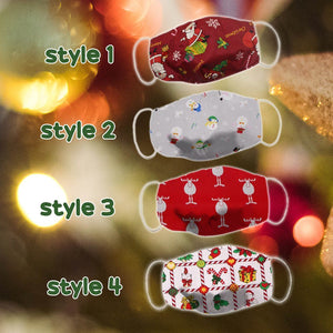 Funny LED Christmas Washable Cloth Cover 1688 Style 2
