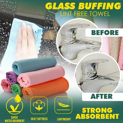 Glass Buffing Lint Free Towel 1688
