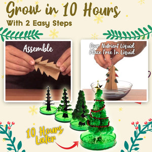 Growing Crystal Christmas Tree 1688