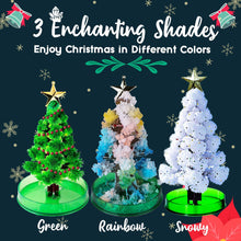 Load image into Gallery viewer, Growing Crystal Christmas Tree 1688 Rainbow