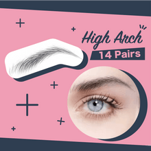 Load image into Gallery viewer, Impeccable Eyebrow Transfer Sticker 1688 High Arch
