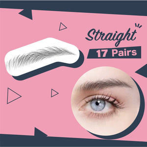 Impeccable Eyebrow Transfer Sticker 1688 Straight