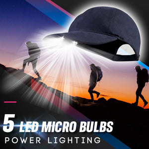 LED Torch Baseball Cap 1688