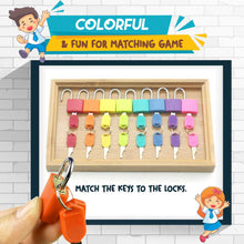 Load image into Gallery viewer, Montessori Matching Colorful Key hvashop
