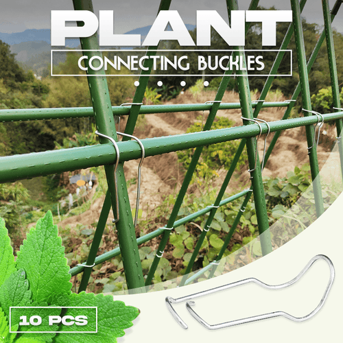 Plant Connecting Buckles 10PCS 1688 11x11mm