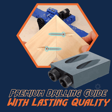 Load image into Gallery viewer, Pocket Hole Wood Drilling Jig System 1688