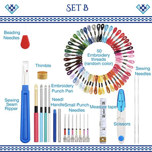 Pop Magic Embroidery Needle Kit harmoninie Set B