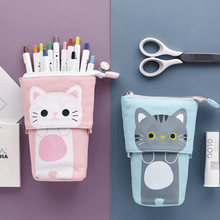 Load image into Gallery viewer, Pop Up Cute Kitten Pencil Case 1688