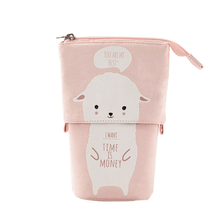 Load image into Gallery viewer, Pop Up Cute Kitten Pencil Case 1688 Alpaca