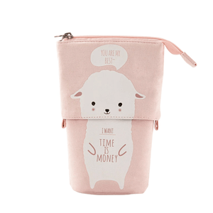 Pop Up Cute Kitten Pencil Case 1688 Alpaca