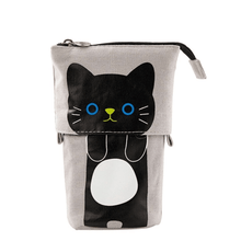 Load image into Gallery viewer, Pop Up Cute Kitten Pencil Case 1688 Black Cat